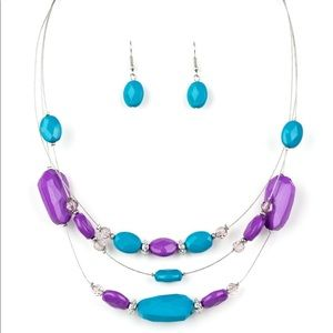 Radiant Reflections- multi color necklace set
